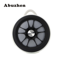 Abuzhen Mini Portable Speaker Wheel Model Wireless Bluetooth Speakers with Hook Grip Mic Support FM TF Card for iphone Tablet PC(China)