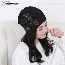 2016 New Fashion Knit Baggy Beanie Hat Female Warm Winter Hats for Girls Women Beanies Bonnet Head Cap Skullies free shipping(China)