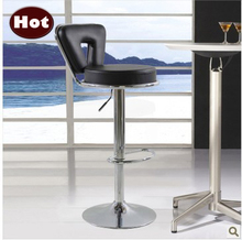 Fashion bar chairs,bar furniture rotate and lift,Metal PU bar chair, shiny metal base,home furnishing or business application