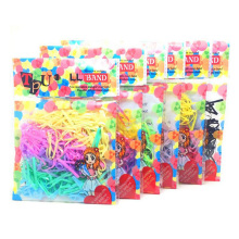 Lot 160pcs/bag Child Baby TPU Hair Holders Rubber Bands Elastics Girl's Tie Gum Rope Ponytail Holder
