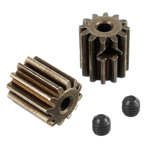HBX 12891 1/12 Motor Pinion Gears 12T With Set Screws 3*3mm(2P)-Brushed 12060 RC Car Parts