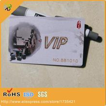 (1000pcs/lot)Plastic vip card DOD numbers and both side CMYK printing with magnetic signature strip panel(China)