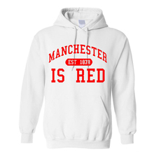 Autumn Winter Men United Kingdom Red Letter Print Men Cotton O-Neck Manchester Hoodies Camisa Masculina tee Hoodies, Sweatshirts(China)