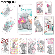 MaiYaCa silicone phone case for 6plus case Tatty Teddy Me To You Bear Soft Phone case Covers For iPhone 4 5s 6s 7 8plus cases(China)