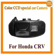 Factory selling color CCD Car Reverse Rear View backup Camera parking rearview For Honda CRV CR-V Odyssey Fit Jazz Elysion(China)