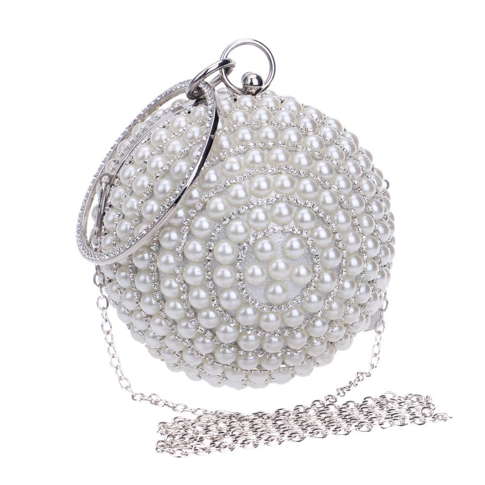 Gold Silver Clutch Luxury Evening Clutch Full Diamond Evening Bags ... cb9f62b95659