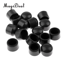 Football-Rod-Cover Rubber-Caps-Accessories 16pieces-Table Magideal