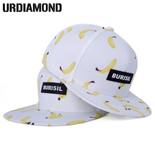 2017 New Snapback Caps Children Fruit Pattern Adult & Kids Caps Baseball Caps Boys Girls Hip Hop Summer Sun Visor Hats Casquette