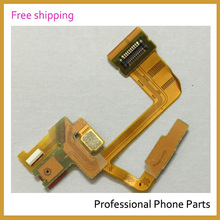 Original For Sony Xperia ZL L35h Microphone Headphone Jack Audio Earphone Flex Cable