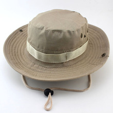 Military Camouflage Bucket Hats Jungle Camo Fisherman Hat with Wide Brim Sun Bucket Hat Caps hat
