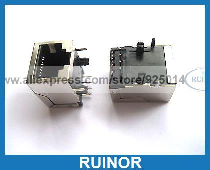 20 x RJ45 Modular Network PCB Jack 59 8P LAN Connector<br><br>Aliexpress