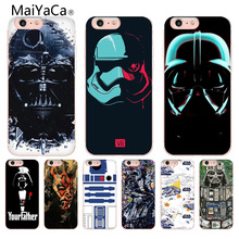 Buy MaiYaCa Star Wars design Pattern tpu Soft Phone Accessories Cover Case Apple iPhone 8 7 6 6S Plus X 5 5S SE 5C Cellphones for $1.29 in AliExpress store