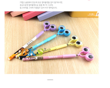 Japen and South Korea Kawayi students stationery , big eyes office supplies ballpoint pen(China)