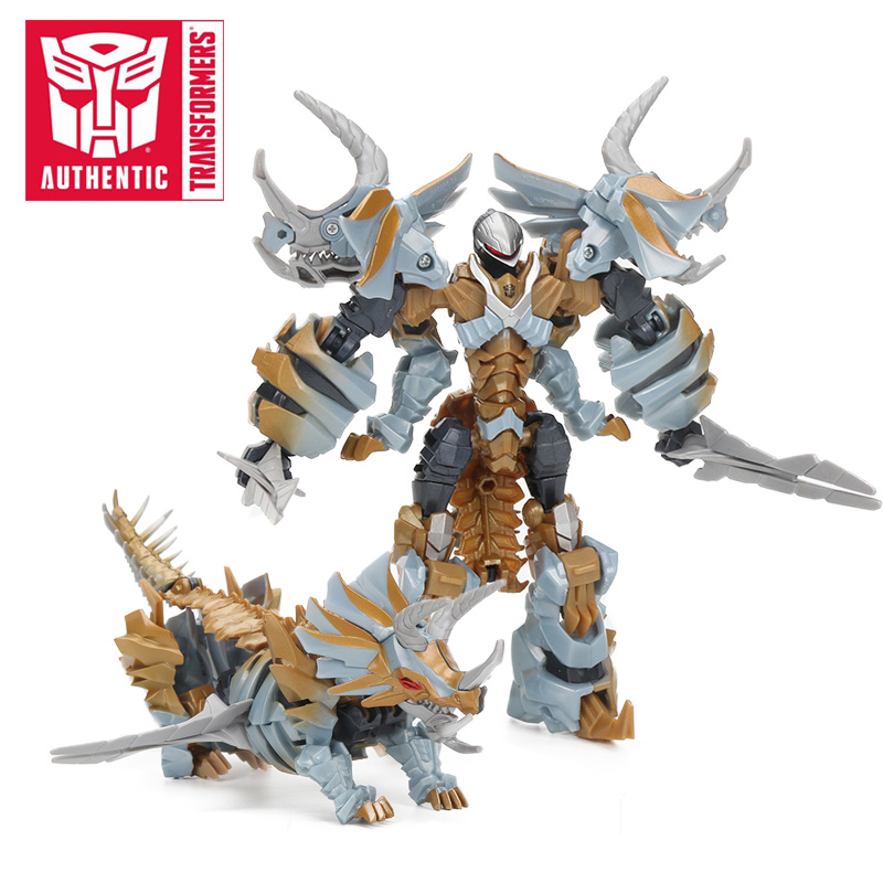 12cm Transformers Toys The Last Knight Premier Edition Deluxe Dinobot Slug PVC Action Figure Collection Model Dolls<br>