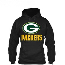 Men Thicken warm Hoodie Green Bay Packers Sweatshirts hooded Jacket autumn winter hoodies tracksuit fashion Clothing sportwear(China)