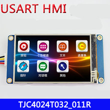 NoEnName_Null 3.2 inch USART HMI TFT with touch panel LCD screen module with GPU font display