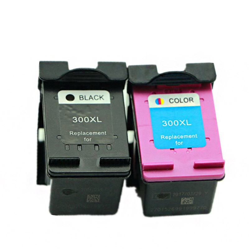 2PK For HP 300XL Black and 300 XL Colour Ink Cartridges  For HP300 D1660 D2560 D2660 D5560 F2420 F2480 F2492 F4210 F4224 F4272<br><br>Aliexpress