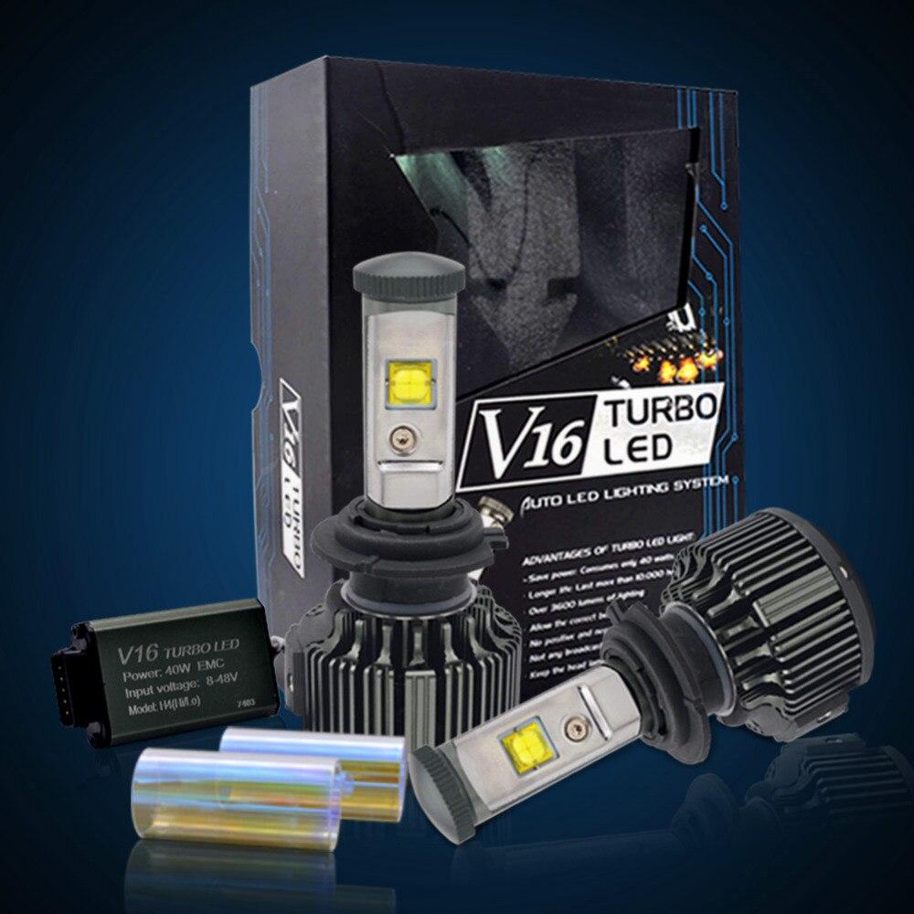 60W 7600LM H7 H4 LED Car Headlights 9005 HB3 9006 HB4 H13 9007 Hi/Lo Beam Auto Led Headlamp Fog Light Bulb Repalcement 6000k <br>