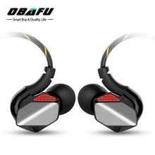 Obafu Sport Headphone with Mic HiFi Stereo Running Earphone Ear Hook Music Headset 3.5mm aux Earbuds for iphone samsung sony(China)