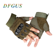 Thin Tactical Gloves Men Outdoor Half Finger Sports Gloves Antiskid Bicycle Gloves Wearable Fingerless Gym Gloves Luva Tatica