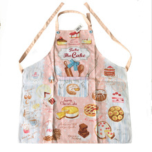 new 77x70cm cotton kitchen Apron Woman cake American Floral Cooking  Divertido Tablier Cuisine Pinafore  Salon