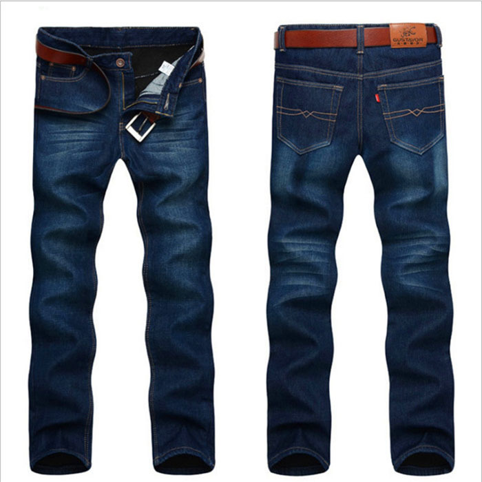 Fashion!2015 New Mens Winter and Autumn Plus Thick velvet Jeans Men Demin Jeans Men Warm Pants Trousers Freeshipping MP680Одежда и ак�е��уары<br><br><br>Aliexpress