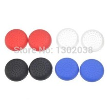 100xSilicone Analog Controller Thumb Stick Grips Cap Cover for Sony Play Station 4 PS4 PS3 PS2 Xbox one xbox360 Game Accessories
