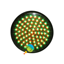High brightness waterproof 300mm 12 inch tri-color red yellow green LED traffic light replacement(China)
