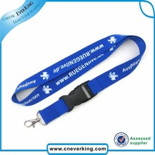 100pcs/lot Neck strap custom lanyards with logo printing for id cards free shipping