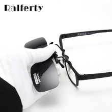 Ralferty Ultra Light Clip On Sunglasses Polarized HD Sun Glasses Driver Night Vision Lenses Anti UVA Shades Women Men Goggles