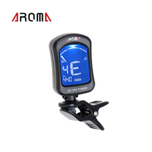 Aroma Electric Guitar Tuner Clip-on Clip Tuner for Chromatic Bass Violin Viola Ukulele Guitar Parts & Accessories Guitar Tuner