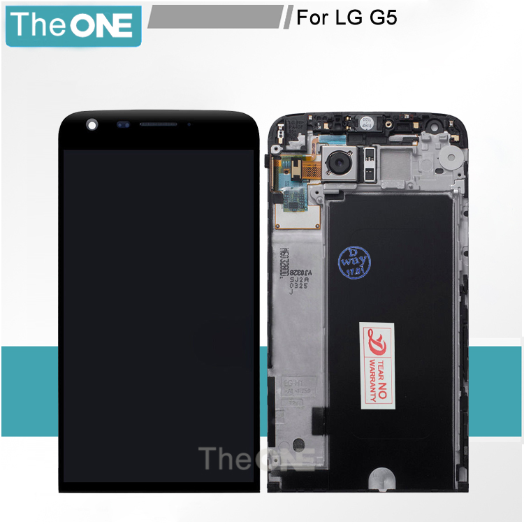 Black color Replacement display For LG G5 H850 lcd display with touch screen digitizer with frame assembly h840 h850<br><br>Aliexpress