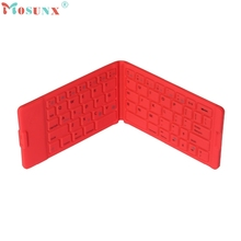 Folding Portable Wireless Bluetooth Keyboard For Tablet iPhone iPad Android_KXL0223
