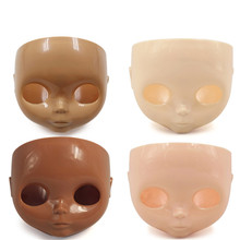 blyth doll face plate factory blyth No makeup face white tan normal dark transparent skin(China)