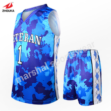 OEM team jersey maker basketball where can i buy basketball jerseys basketball uniform designe print colorful basquete jersey(China)