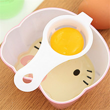 2 pcs/lot Free Shipping Eco Friendly Good Quality Egg Yolk White Separator Egg Divider Egg Tools PP Food Grade Material(China)