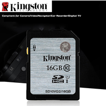 Kingston Micro SD Memory Card 16gb SDHC/SDXC Digital Card Class10 Card 16GB cartao de memoria carte sd tarjeta For Canon Camera(China)