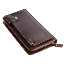 Luxury Genuine Leather Wallet Men's Purse Leather Male Clutch Fashion Women Purse Wallet Coin Bag Money Clip Wholesale