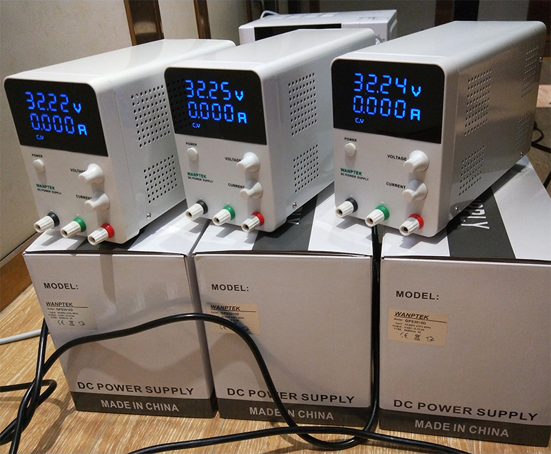 Variable DC Power Supply 30V 10A,Adjustable Regulated Power Supply mA Display, 0-30V 0-10A 300Watts Power With Alligator Cable (11)