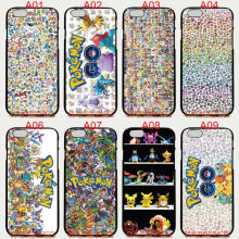 All pokemons Phone Cases Soft TPU For iPhone 6 7 Plus SE 5S 4S Touch 6 For Samsung Galaxy S8 Plus S7 S6 Edge S5 Note 5 4 2016 J5(China)