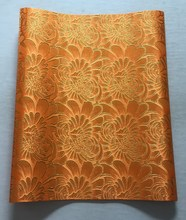 2016 African head tie fabric,Orange+Gold headtie,super jubilee sego headtie,NEW  gele,wholesale and retail,2pcs/bag