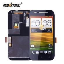 Srjtek screen For HTC Desire SV T326E LCD Display + Touch Digitizer Sensor Glass Assembly 4.3inch 800*480 Black Assembly