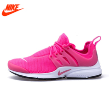 Intersport Original New Arrival Authentic Nike Mesh Surface Women's Air Presto Breathable Running Shoes Sneakers brand sneakers(China)