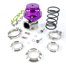 Purple 44mm V-Band External turbo Wastegate set kit performance polished(China)