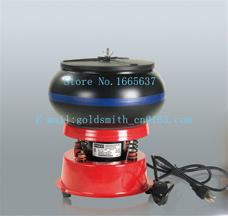 Jewelry equipment Vibrating Tumbler, Tumbling Polishing machine, Jewelery Polisher, Color randomization black or mint green