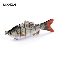 Lixada 10cm 20g Fishing Lure 3D Eyes Wobbler Fish Lure Crankbait Swimbait Isca Artificial Bait With Hook Carp Ice Fishing Tackle(China)