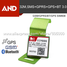 1pcs GSM/GPRS+GPS+Bluetooth version Module SIM808,lower cost gsm gps module,SIM808, instead of SIM908