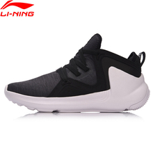 Li-Ning Women Basketball Culture Sport Shoes Warm Comfort Sneakers Textile LiNing Sports Shoes AGWM006(China)