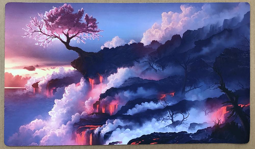 Playmat Dark Rebellion Xyz Dragon TCG CCG Yugioh Card Mat Bag NEW Yu-Gi-Oh