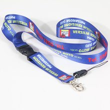 50 PCS Free shipping Advertising red lanyard custom yellow logo with detachable buckle for ID card holder(China)